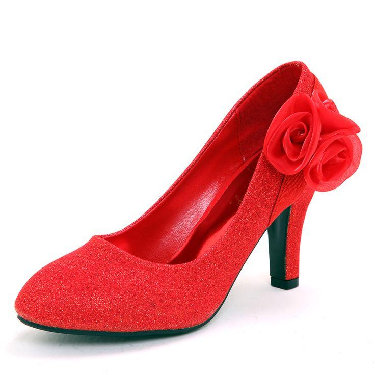 Свадебная обувь свадебные туфли красные свадебные туфли свадебные свадебные туфли красные женские туфли на высоком каблуке сапоги с бантом