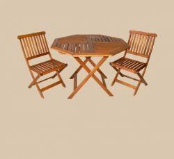 folding octagonal table - so practical