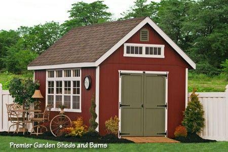 Amish Storage Sheds, Wood Sheds, Vinyl Storage Shed Kit