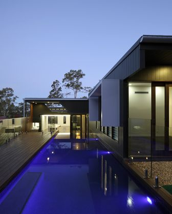 Satou House, Brisbane by Arkhefield. Photography: Scott Burrows