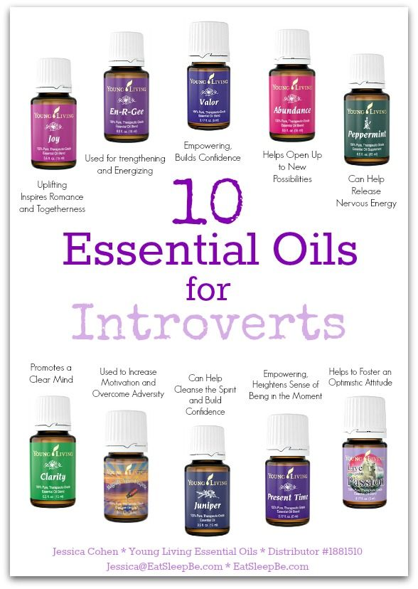 10 Essential Oils for Introverts