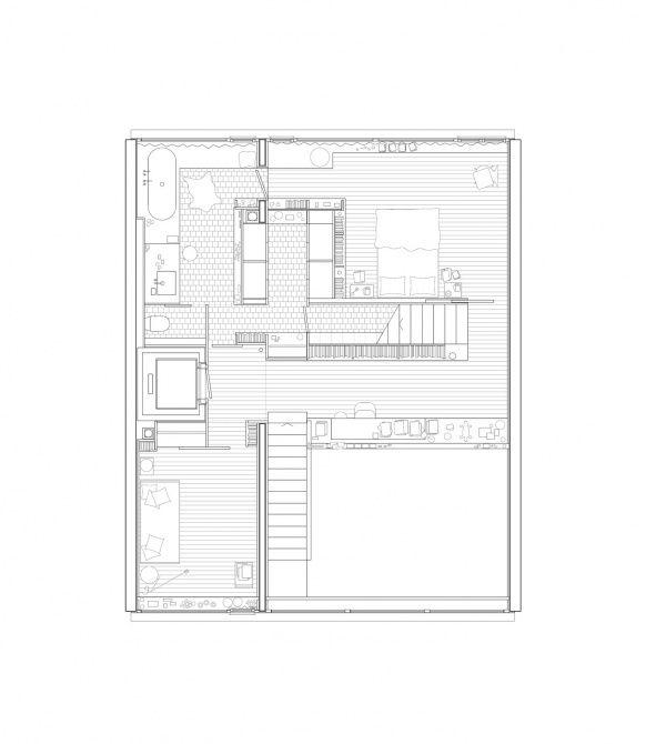 Patrick Gmür / Helle Architektur      Geschäftshaus Gertrudstrasse      Zürich | ETH Zürich - Prof. A. Caruso :: Archive :: References: