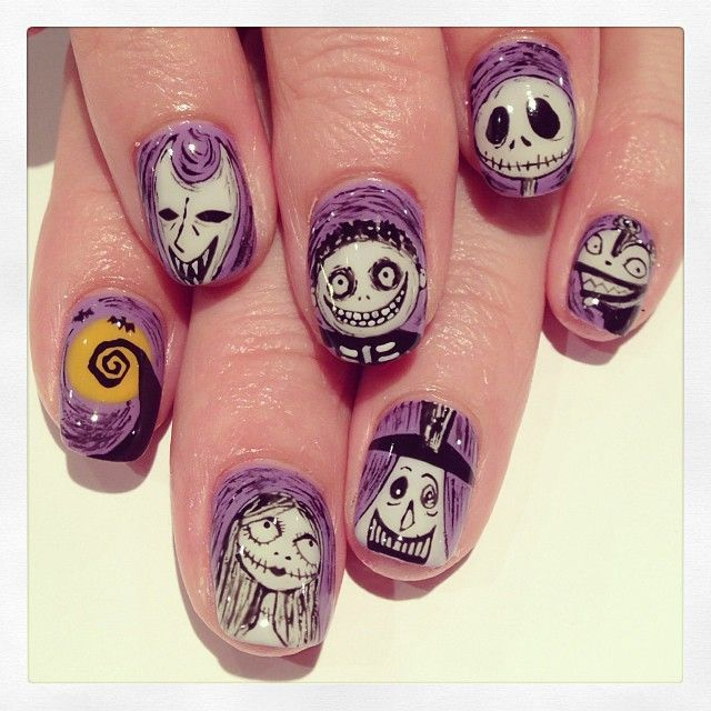 Majestic 25 Cool Halloween Nail Art Ideas https://www.fashiotopia.com/2017/10/04/25-cool-halloween-nail-art-ideas/ Nail art is really straightforward and its fun. On the flip side, if the design you would like is very complicated, or demands a nail printer