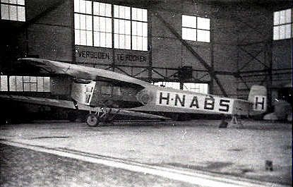 24 April 1924 - Fokker F.III H-NABS of KLM departed Lympne for Rotterdam and Amsterdam and was never heard of again. It was presumed to have crashed into the sea, killing the pilot and both passengers
