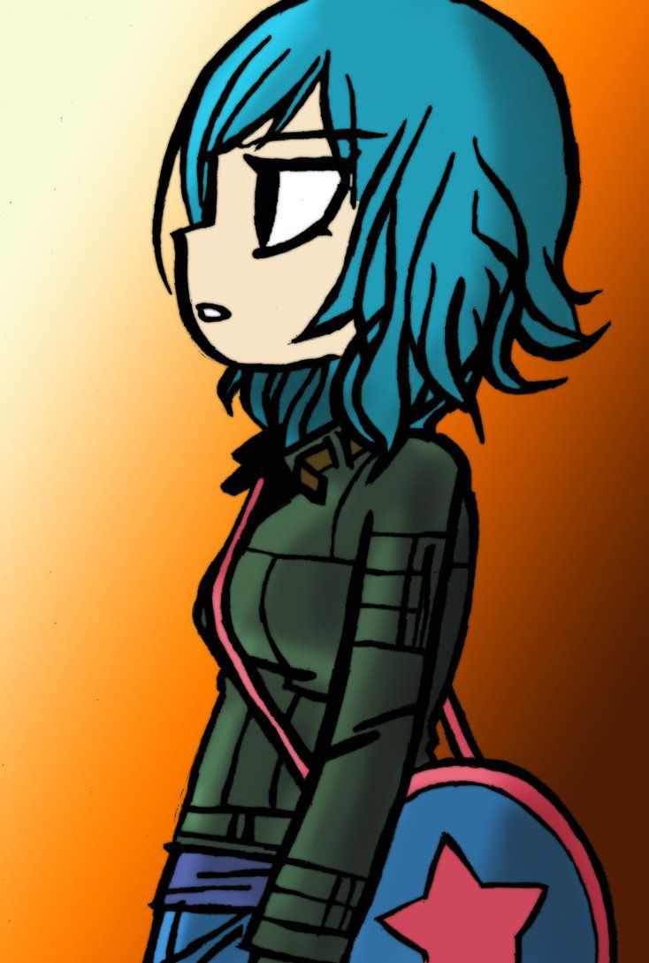 (Scott Pilgrim vs. The Universe) Ramona Flowers
