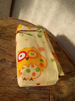 Mirtusz : Textil zsebkendőtartó - mert rend a lelke mindennek
