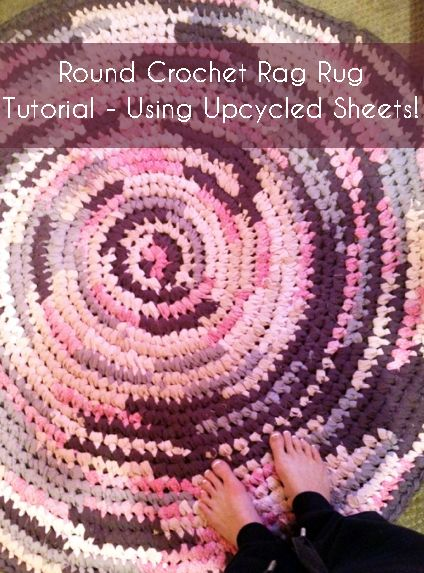 Crocheting Rag Rug Instructions : ... Twine or other Material on Pinterest Crocheting, Rag rugs and Rugs