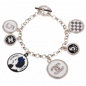Chanel Silver Charm Bracelet Best Bracelets