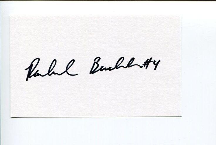 Rachel Buehler US Olympic Gold Medal Soccer Signed Autograph