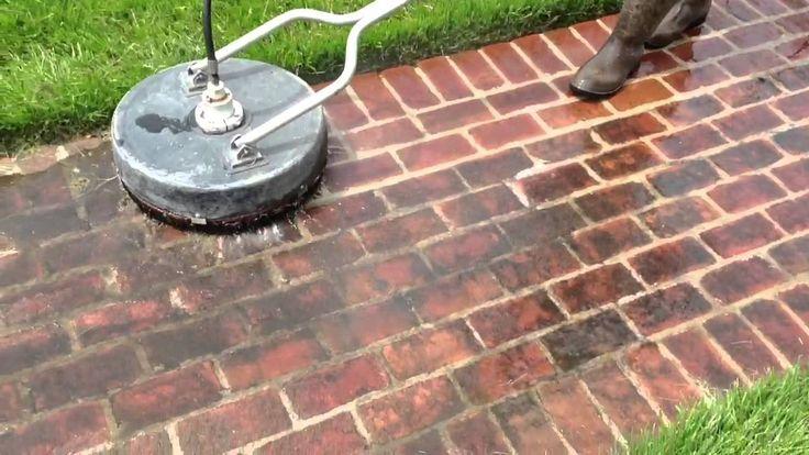 Brick sidewalk pressure washing 40502