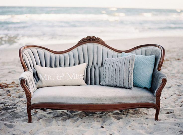 Beach Wedding Decor from Melanie Gabrielle Photography