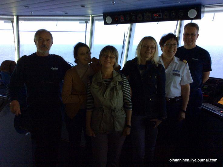 капитан, команда Finnlines и блогеры жж