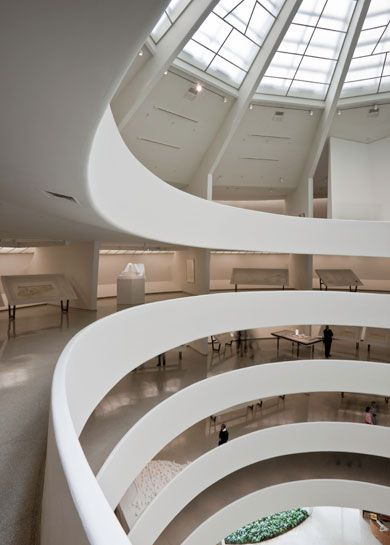 Guggenheim Museum, New York. Beautiful building, great memories of a fantastic trip