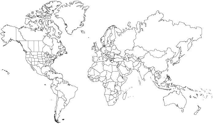 The 25+ best World map printable ideas on Pinterest