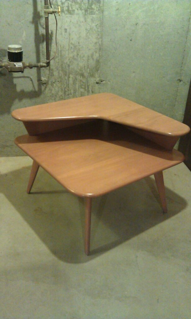 Heywood Wakefield Boomerang Corner Table Retro For The Home Pinterest And Mid Century