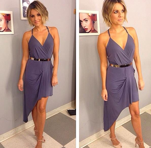 Ali Fedotowsky- love this look