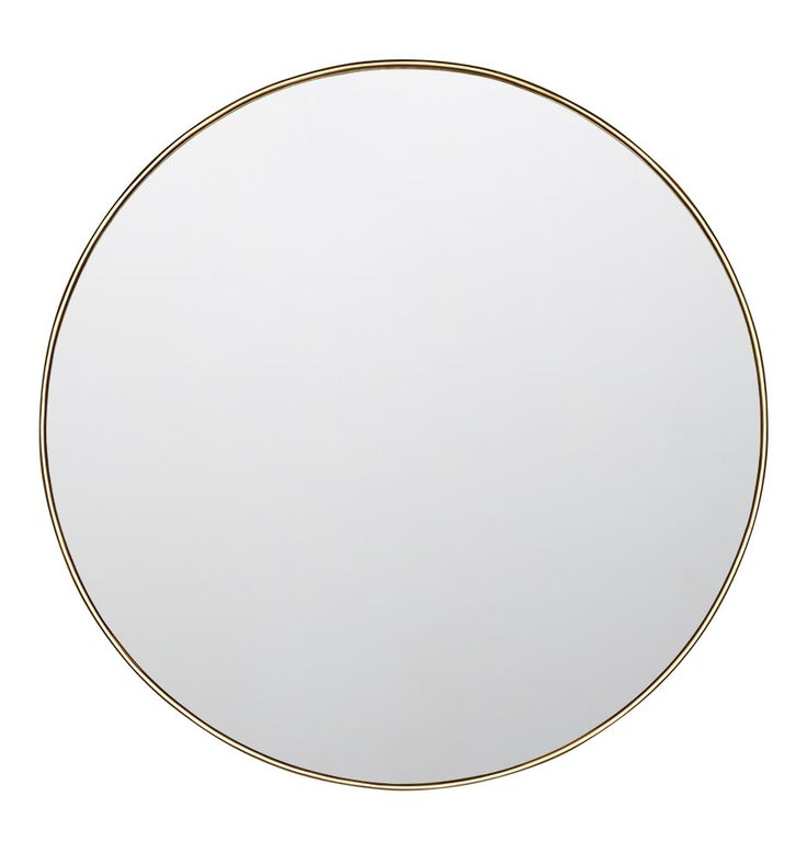 Reflect light and style with our Round Classic Framed Mirror. Crafted with a sleek metal frame and available in a variety of finishes, this timeless design takes any wall from simple to showstopping.  * Brass frame, glass mirror, engineered wood backing * Imported