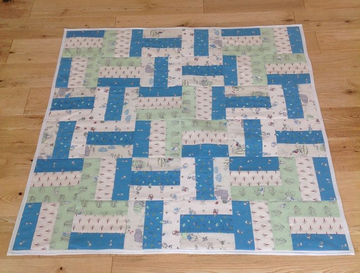 9 block baby quilt