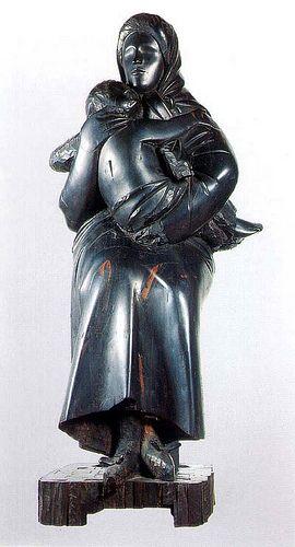 Mother and Child GIACOMO MANZU' nome d'arte di Giacomo Manzoni (Bergamo, 22 dicembre 1908 – Roma, 17 gennaio 1991) #TuscanyAgriturismoGiratola