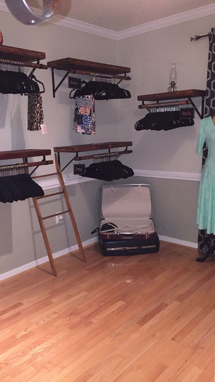 My LuLaRoe room in the making
