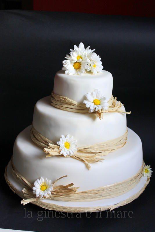 Daisy wedding cake - Cake by Ginestra