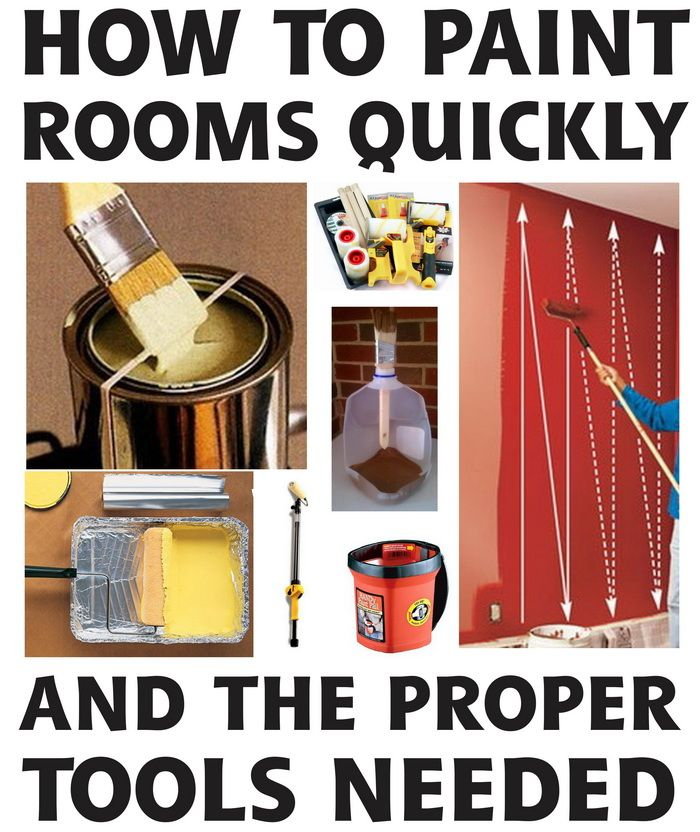 How To Easily Paint A Room FAST With A Roller or Brush – TIPS AND TRICKS!