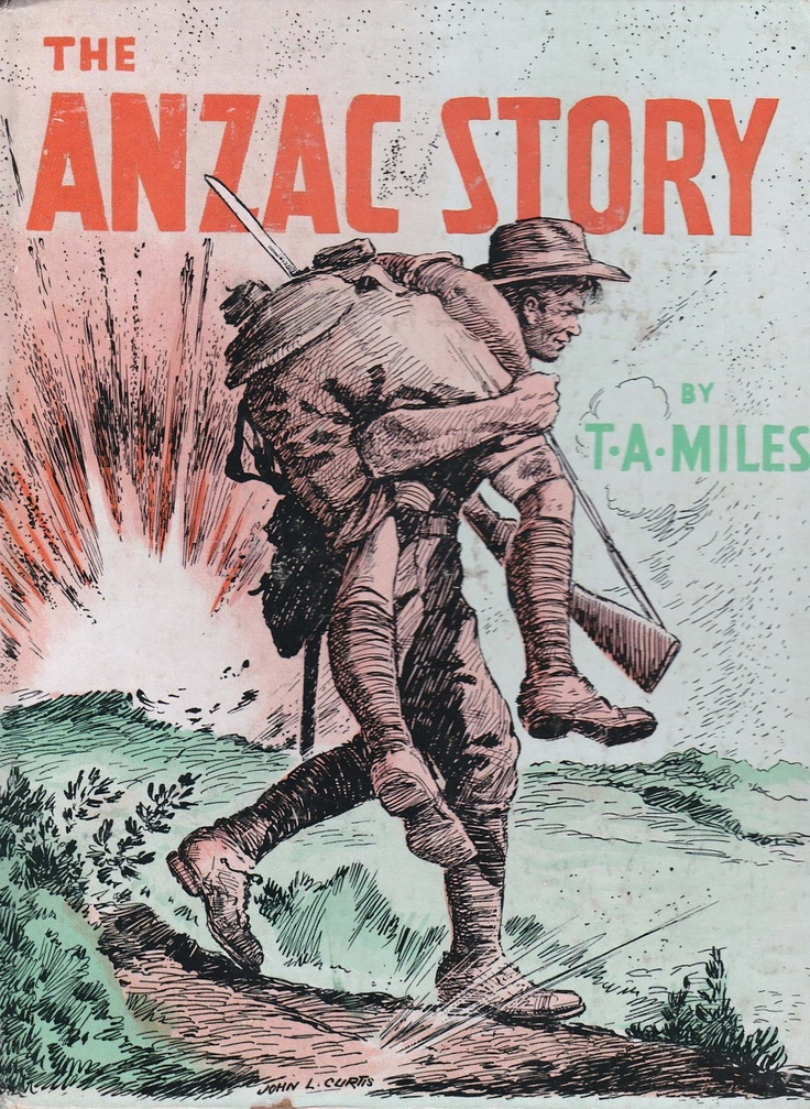 A peaceful day: Book Review - The Anzac Story, excellent book for children
