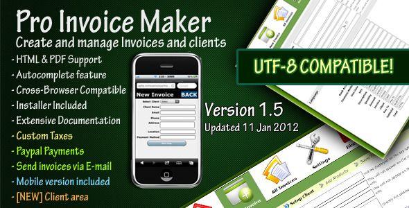 Pro Invoice Maker