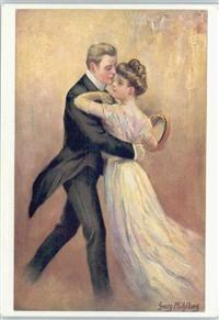 Walzer tanzen - Glamour Paar