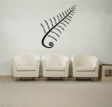ARTICULATE NZ - DESIGNER ART - KIWIANA FERN