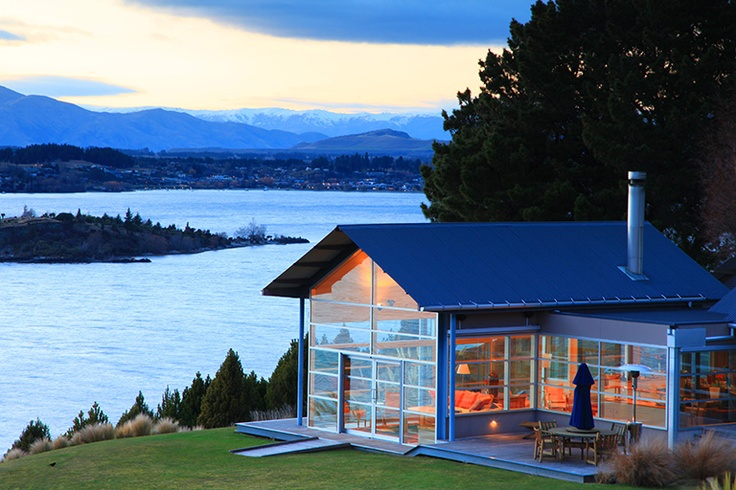 Relais & Chateaux -Lake Wanaka is an ecological sanctuary and one of New Zealand's best-preserved sites. Whare Kea Lodge & Chalet - NEW ZEALAND  #relaischateaux #landscape