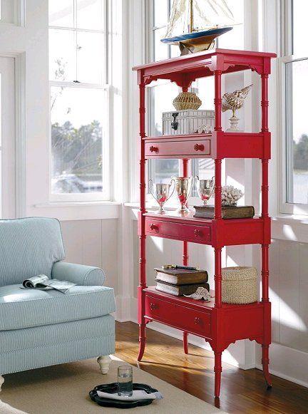 painted furniture RED photo | visit dishfunctionaldesigns blogspot com