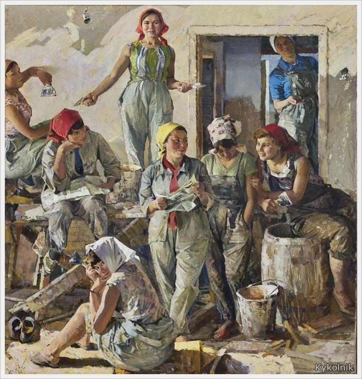 Карачарсков Николай Прокофьевич (Россия, 1935) «О нас пишут» 1969