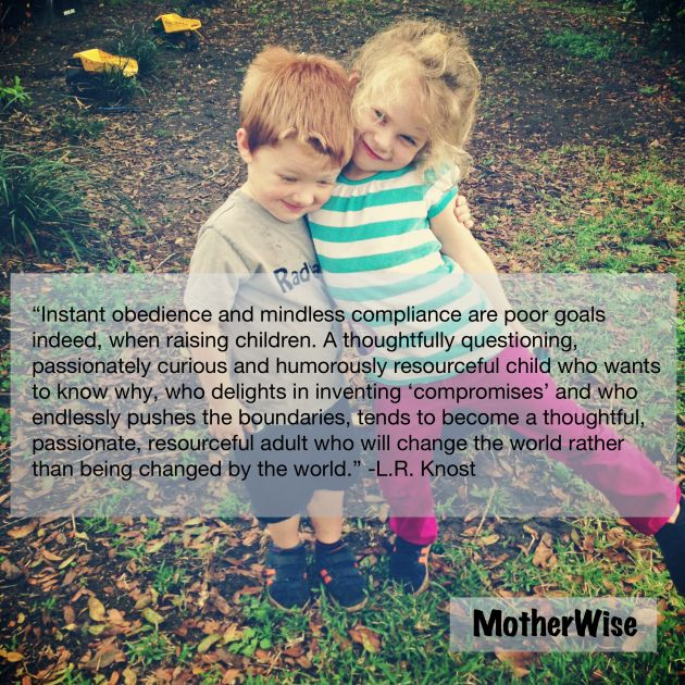 Transitioning from Controlling Parenting: Focusing on Connection   MotherWise