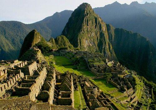 Machu Picchu - hope someday soon!