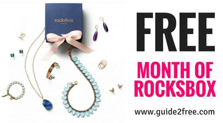 Get a FREE Month of RocksBox!  RocksBox is offering new members their first month for FREE (a $19 value)!  Just click the link and copy the coupon code.  Take the style quiz so they'll know what you like then enter your code at checkout to make your total $0. Shipping is also FREE too! You will need to enter a credit/debit or prepaid card number but you will not be charged unless you do not cancel before your first free month is up. via @guide2free