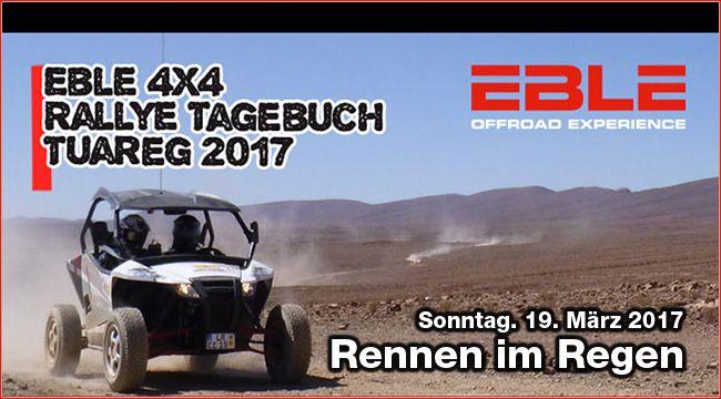 Tagebuch Tuareg Rallye 2017, Tag 2: Regen am Sonntag Direkt aus Marokko berichtet Konrad Kuhnt im Tagebuch Tuareg Rallye 2017, Tag 2, über das Rennen im Regen am Sonntag, den 19. März http://www.atv-quad-magazin.com/aktuell/tagebuch-tuareg-rallye-2017-tag-2-regen-am-sonntag/ #TuaregRallye #Motorsport #Rallye #Marokko #Eble4x4 #Buggy #BuggyRacing #ATVQUADMagazin