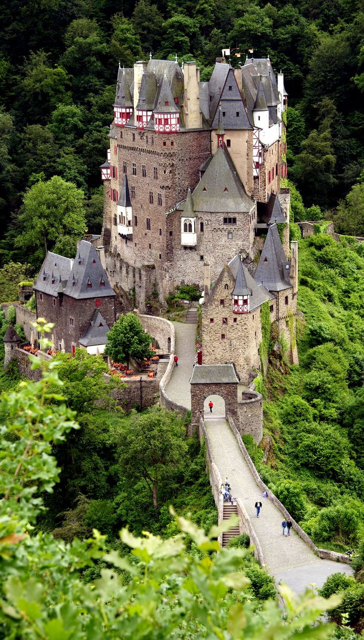 Burg Eltz Germany, Take the hike back into it to see some beautiful forest.