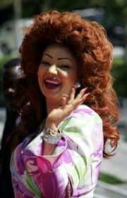 Cameroons First Lady Chantal Biya...She stays true to who she is.