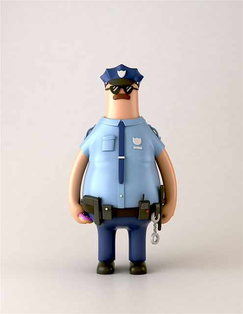 Cop by Yum Yum London, via Flickr
