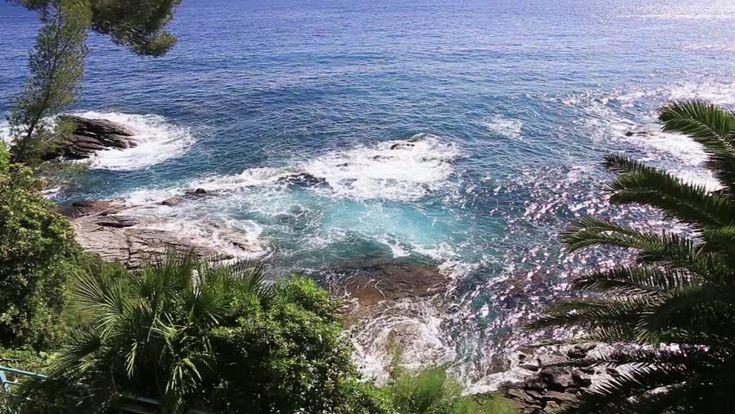 Rough Sea Tide To Genoa Nervi Seafront Filmati e video d'archivio 10357493 - Shutterstock
