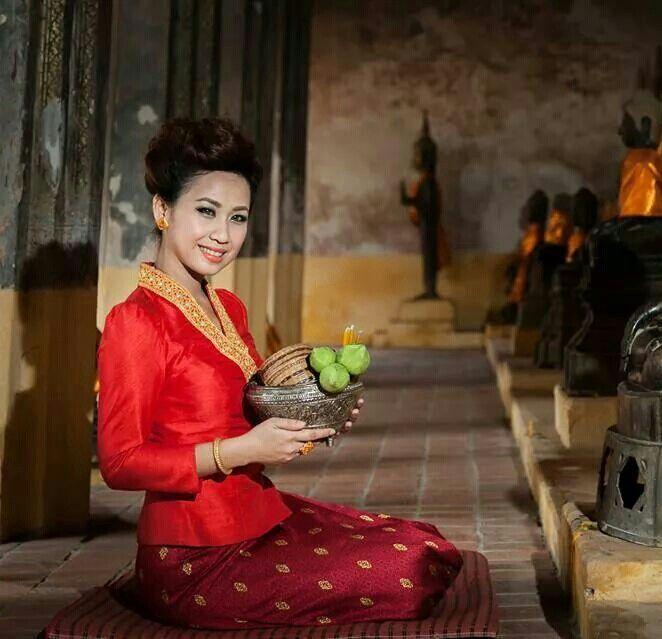 Laos silk