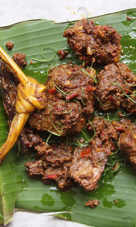 This luscious Indonesian dish is traditionally eaten with white rice, but it is also wonderful with crusty Italian bread.