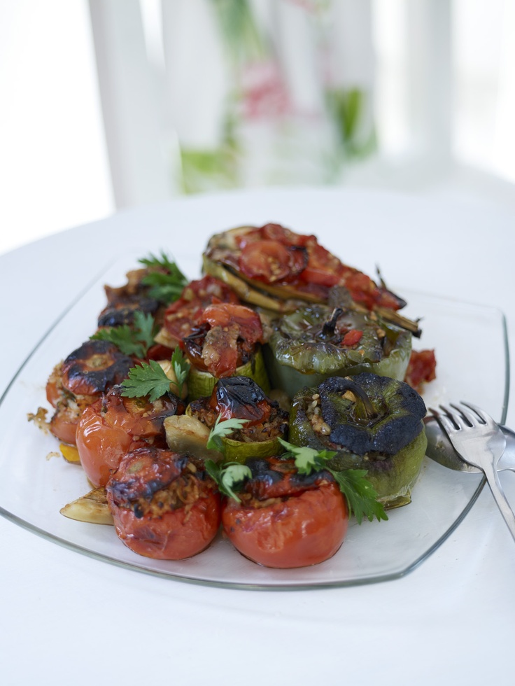 STUFFED TOMATOES & PEPPERS...