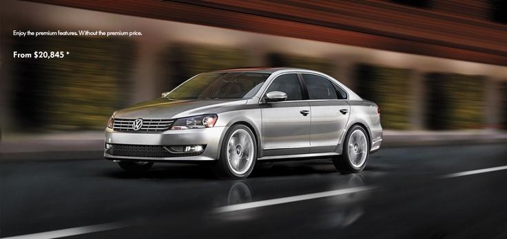 ♡❤ ❥ 2013 VW Passat Sedan by @VW   ~ @MotorTrend Passat #1 Midsize Sedan  #automfg via #chatwrks