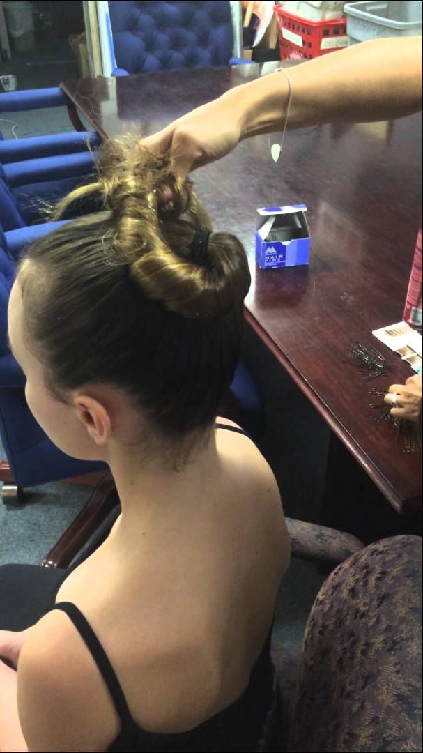 How to make a classical ballet bun