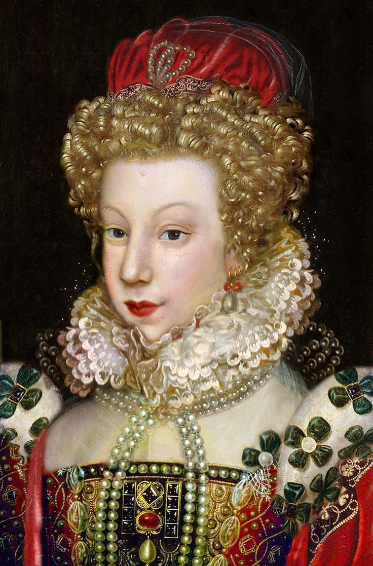 Marguerite de Valois ,Queen of France and of Navarre (843×1280)