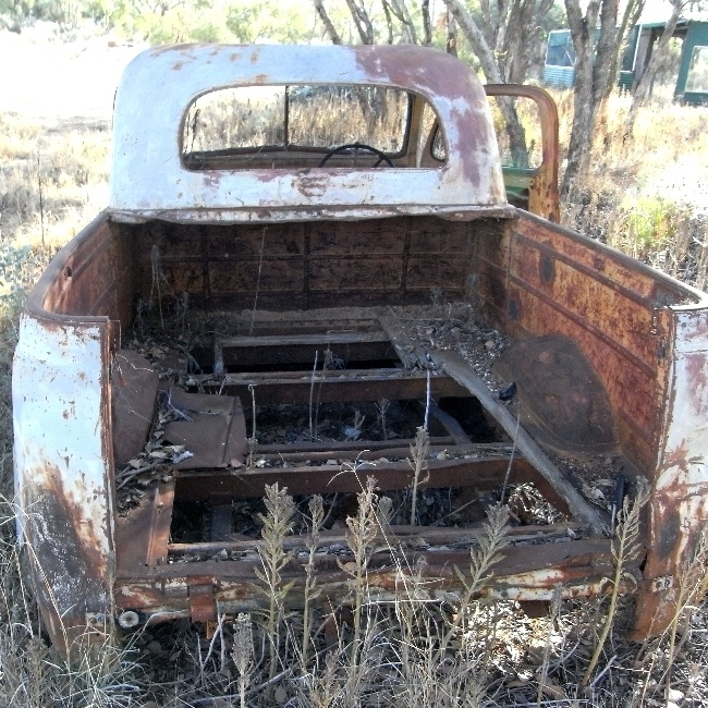 Old Ute. Unsure of Model. maybe a Chev