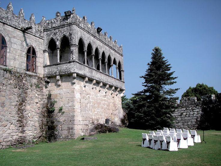 Castillo de Soutomaior  (Pontevedra) Ruta de la camelia #Galicia