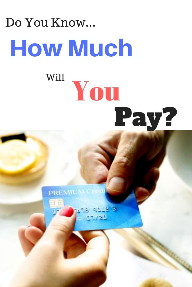 Credit Card Monthly Payment Calculator Credit card